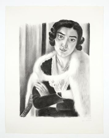 Lithograph Matisse - Le renard blanc