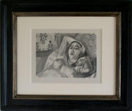 Lithograph Matisse - Le Repos du Model