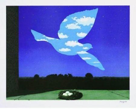 Lithograph Magritte - Le retour, 1940