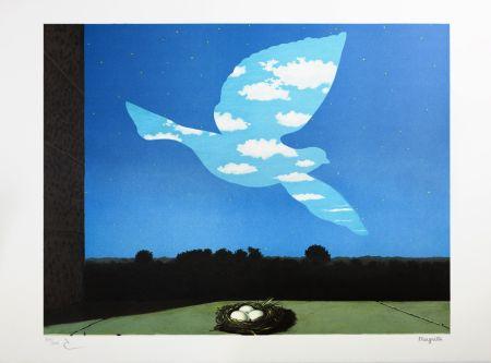 Lithograph Magritte - Le Retour (The Return)