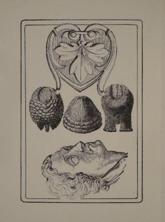 Illustrated Book Toyen - Le Roi Gordogane