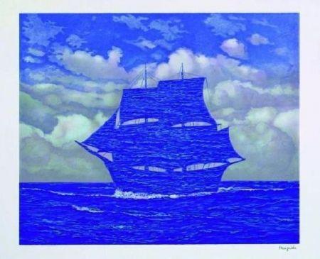 Lithograph Magritte - Le séducteur, 1951
