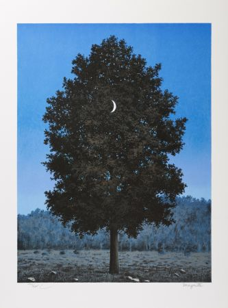 Lithograph Magritte - Le Seize Septembre (The Sixteenth of September)