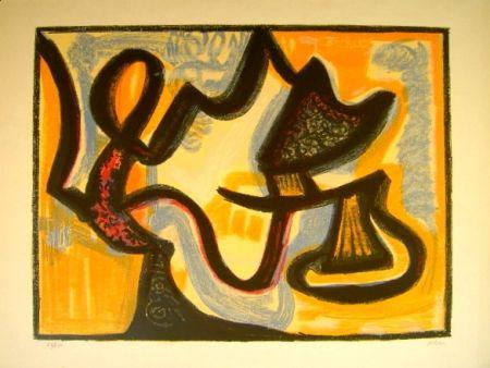 Lithograph Atlan - Le Simoun