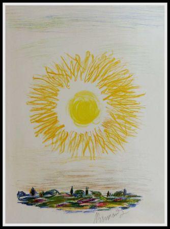 Lithograph Bonnard - LE SOLEIL