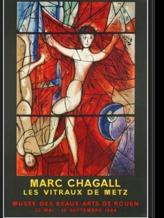 Lithograph Chagall - LE SONGE DE JACOB