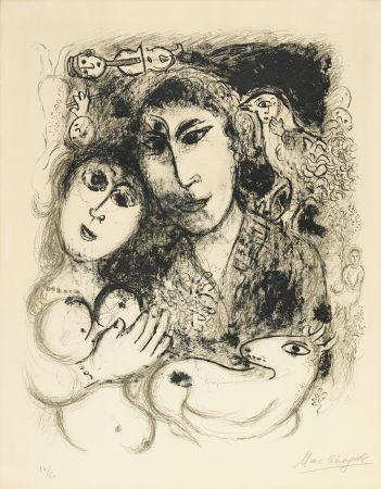 Lithograph Chagall - Le Sortilege