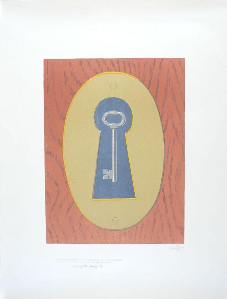 Lithograph Magritte - Le Sourire du Diable - The Devil' Smile