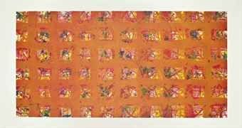 Etching And Aquatint Francis - Le stagioni: La pioggia d'oro