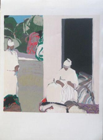 Lithograph Godard - Le sud