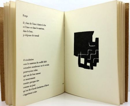 Illustrated Book Chillida - LE SUJET EST LA CLAIRIÈRE DE SON CORPS - CHILLIDA - RACINE