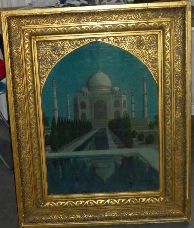 No Technical Amiguet - Le Taj Mahal ,1932