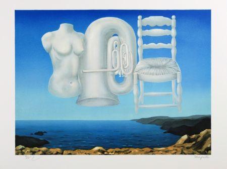 Lithograph Magritte - Le Temps Menaçant