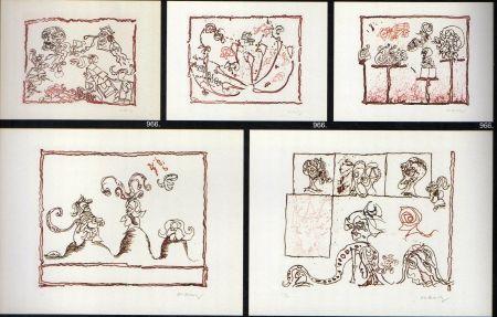 Engraving Alechinsky - Le test du titre portfolio