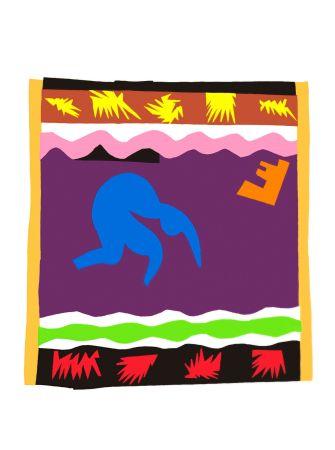 Lithograph Matisse - Le Toboggan (Toboggan)
