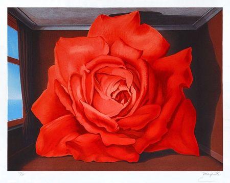 Lithograph Magritte - Le tombeau des lutteurs
