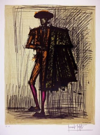 Lithograph Buffet - LE TORERO / THE BULLFIGHTER