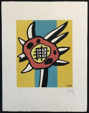 Lithograph Leger - Le Tournesol (The Sunflower)