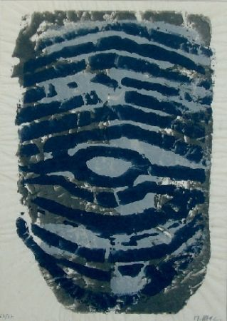 Monotype Ubac - Le trou de serrure