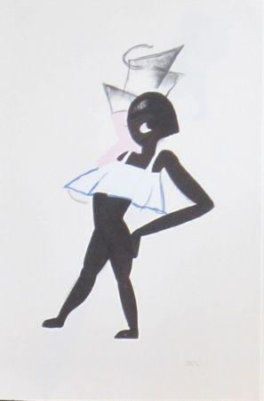 Lithograph Colin - Le tumulte noir 12