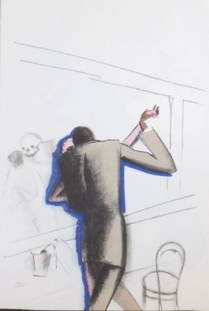 Lithograph Colin - Le tumulte noir 16
