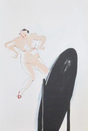 Lithograph Colin - Le tumulte noir 17