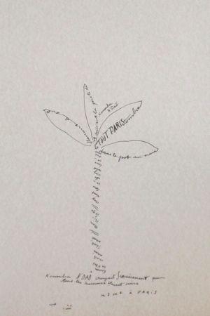 Lithograph Colin - Le tumulte noir 19