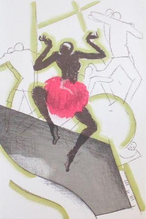 Lithograph Colin - Le tumulte noir 21