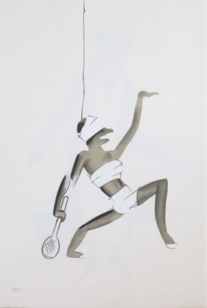 Lithograph Colin - Le tumulte noir 24