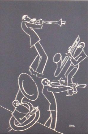 Lithograph Colin - Le tumulte noir 27