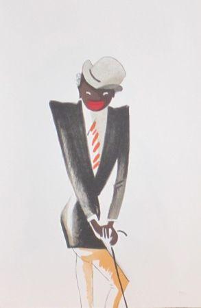 Lithograph Colin - Le tumulte noir 30