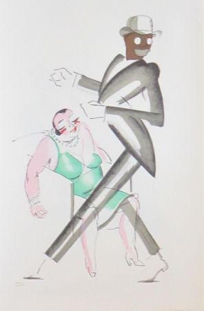 Lithograph Colin - Le tumulte noir 33