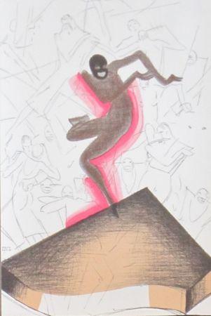 Lithograph Colin - Le tumulte noir 38