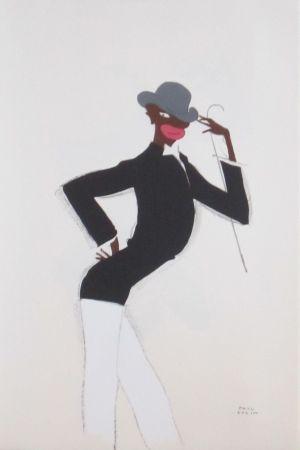 Lithograph Colin - Le tumulte noir 41