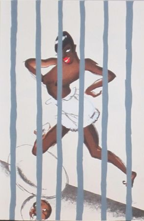 Lithograph Colin - Le tumulte noir 43