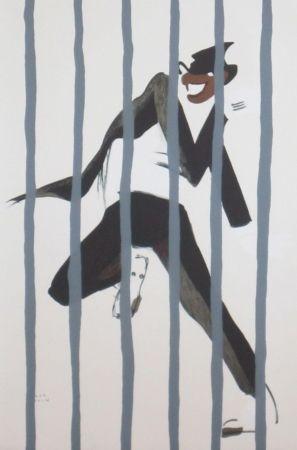 Lithograph Colin - Le tumulte noir 44