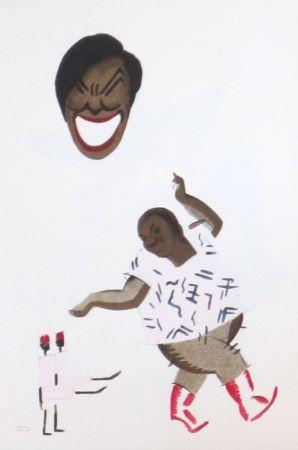 Lithograph Colin - Le tumulte noir 6