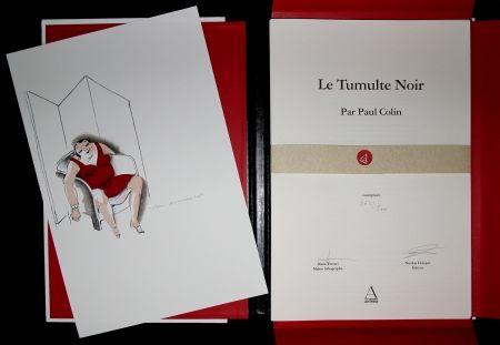 Illustrated Book Colin - LE TUMULTE NOIR / BLACK THUNDER  - Josephine Baker - 45 Lithographies