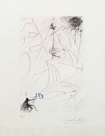 Etching Dali - Le vaisseau fantôme