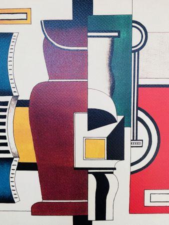Lithograph Leger - Le vase