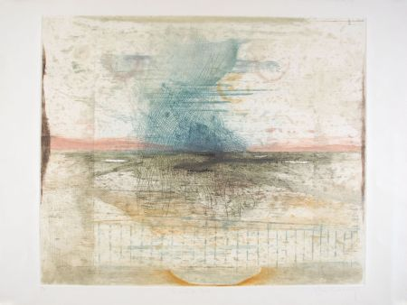 Etching And Aquatint Carcan - Le vent du Nord (Receuil