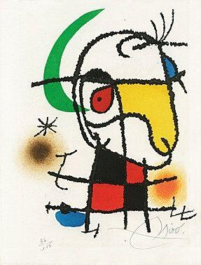 Illustrated Book Miró -
