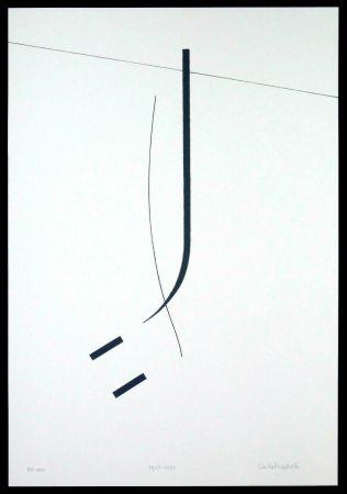 Screenprint Badiali - Le vent se leve (tavola 5)