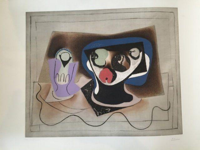 Aquatint Picasso - Le verre d'absinthe