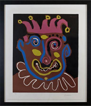 Linocut Picasso - Le Vieux Roi (B. 1152)