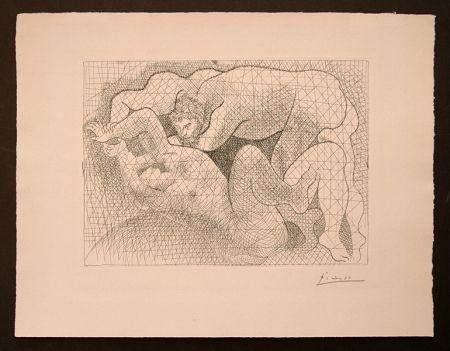 Etching Picasso - Le Viol (La Suite Vollard)