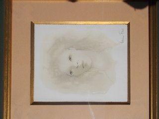 Drypoint Fini - Le visage