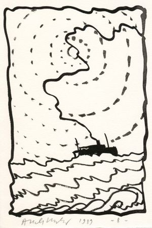 Illustrated Book Alechinsky - Le Volturno
