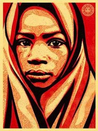 Screenprint Fairey - L.E.A.D. Uganda (Blanket)