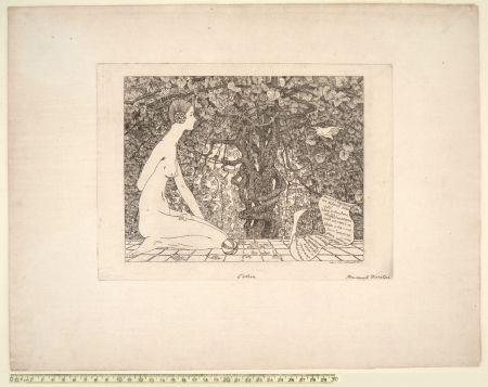 Engraving Disertori - L'EDERA (1911-13)